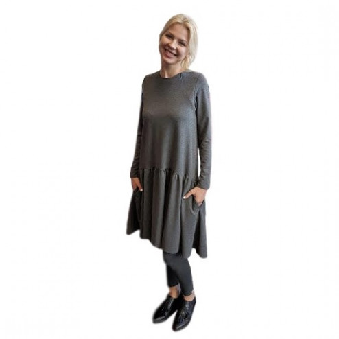 Female stylish dress VENEZIA Anthracite
