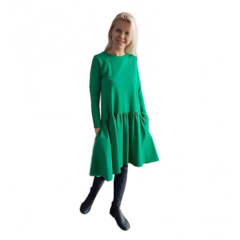Female stylish dress VENEZIA Green