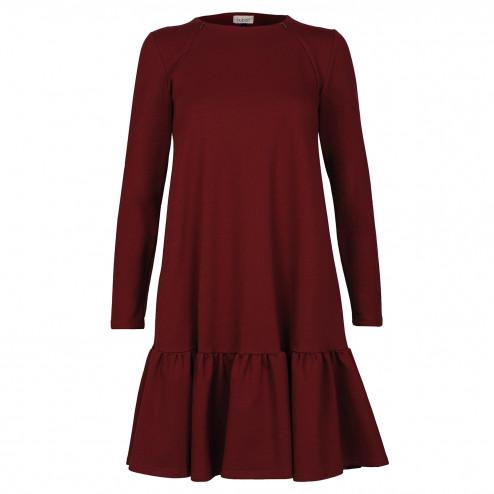 Female stylish dress FLORENCE Burgundy