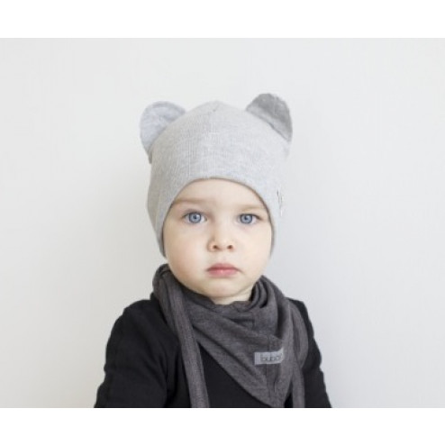 BEAR MIST doublelayered beanie