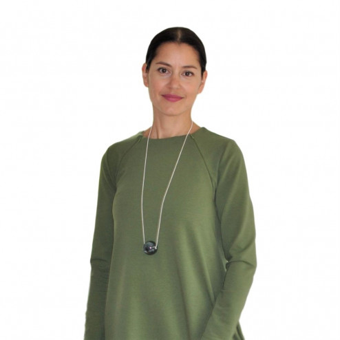 Female stylish dress VENEZIA Pistachio