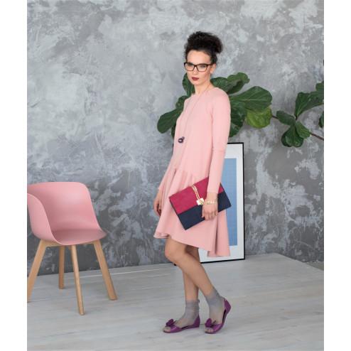 Female stylish dress VENEZIA Blush Powder