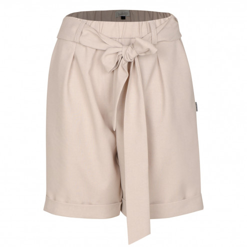 Female stylish shorts with belt TAHO, sand