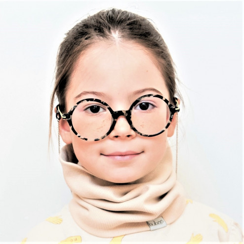 Kids snood scarf for spring, fall - Sand
