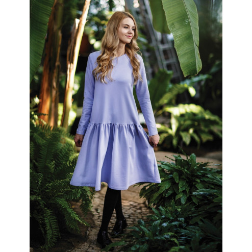 Female stylish dress VENEZIA Lilac