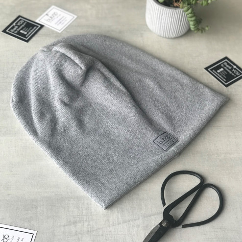 Man fall beanie hat - Grey