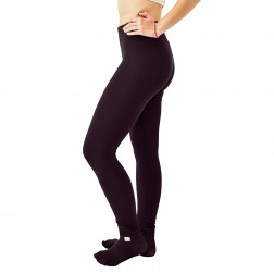 Female leggings Charcoal, black