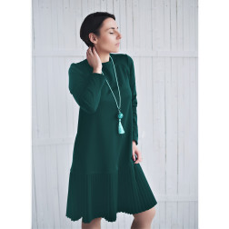 Female stylish dress GENEVA Emerald