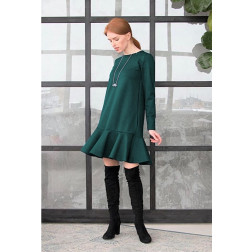 Female luxurious dress ROMA Emerald