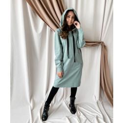 Woman leisure dress BUBOO active, mint