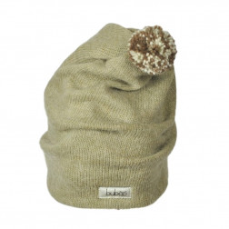 GNOM double layered wool beanie sand