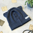 BEAR blueberry one layer beanie