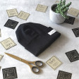 Kids doublelayered beanie TRENDY black