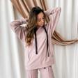 Woman stylish leisure jumper BUBOO active, ash rose