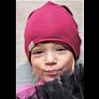 Kids thin beanie TRENDY fuchsia