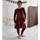 Female stylish dress VENEZIA Burgundy