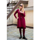 Female stylish dress MONACO Burgundy