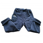 warm POCKET pants blueberry with wool pocket (new)