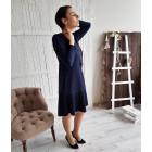 Female stylish dress GENEVA Royal Blue