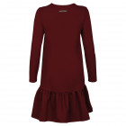 Female stylish dress FLORENCE Burgundy