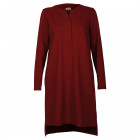 Female stylish dress VERONA Burgundy