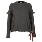 Female stylish and comfortable top MONTREAL Grey/Sand