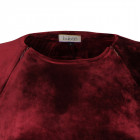 Female luxurious dress VENEZIA Burgundy Velvet