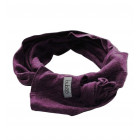 SCARF KNOT EGGPLANT