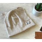 BEAR latte sparkling one layer beanie