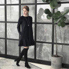 Female luxurious dress ROMA Black