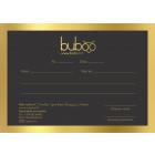 Buboo gift coupon 100EUR