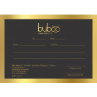 Buboo gift coupon 50EUR