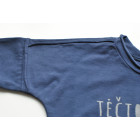 Long sleeve shirt blue TĖČIO KOPIJA