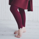 Female leggings Burgundy