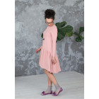 Female stylish dress VENEZIA Blush Powder