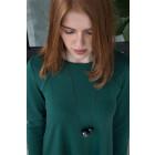 Female luxurious dress ROMA Emerald