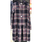 Female stylish dress VENEZIA Checked with belt