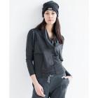 Female grey  leisure casual pants PARIS thicker