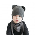 BEAR STUMP doublelayered beanie
