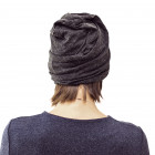 BEANIE SCREW2 BLACK GREY STUMP