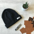 Kids beanie TRENDY black