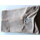 KNOT adult double layered velour scarf sand