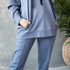 Stylish woman jumper WOW, blue - indigo
