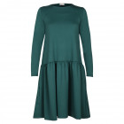 Female stylish dress VENEZIA Emerald Green Beauty