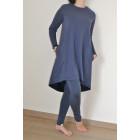 Female stylish dress MONACO Blueberry