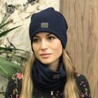 Women's scarf - comfortable, cozy, perfect - Dark blue