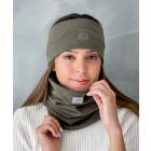 Women's scarf - comfortable, cozy, perfect - Chaki