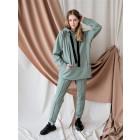 Female stylish leisure pants BUBOO active, mint