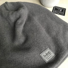 Man fall beanie hat - Dark grey
