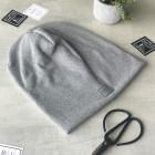 Woman fall winter beanie hat - Grey